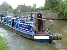 Working narrowboat Archimedes