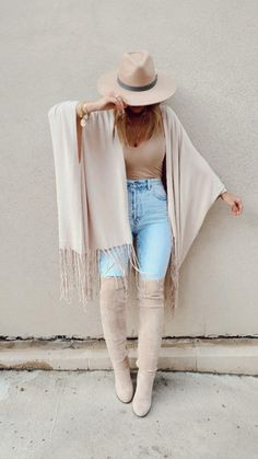 Outfits With Hats, Casual Fall Outfits, Fall Winter Outfits, Autumn Winter Fashion, Stylish Outfits, Fall Fashion Women, Cute Outfits For Fall, Fall Outfit Ideas, Bohemian Fall Outfits