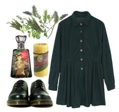 """""""she strange"""" by haomind ❤ liked on Polyvore featuring Dr. Martens"""