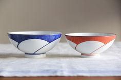 ねじり梅 飯わん (白山陶器)
