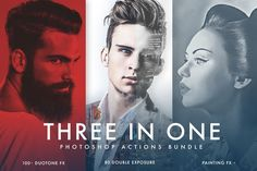 Great Duotone + Double Exposure + Painting CreativeWork247 - Fonts, Graphics...