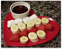Gosh, do I love me some chocolate fondue.  I used to love going to The Melting Pot and getting their chocolate fondue  - they have so many yummies to dip into it! I'm talking marshmallows,  pound cake, rice crispie treats, brownies, strawberries, bananas, etc.  They also have different types of chocolate fondue: some with peanut  butter, some with liqueurs -everything is delicious.  What I didn't realize: I can make chocolate fondue that tastes just as good  as the restaurant...at my…