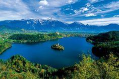 Summer: Bled #Island, Lake Bled, #Slovenia
