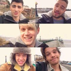 the boys on the you and i fan video <3