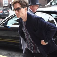 Cillian Murphy arrives at his hotel ahead of his Anthropoid movie premiere this evening, Dublin, Ireland.    #jawclench #cillianmurphy #anthropoid