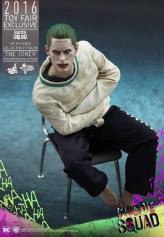 onesixthscalepictures: Hot Toys Suicide Squad THE JOKER : Latest product news for 1/6 scale figures (12 inch collectibles).
