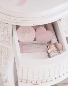 Pretty Eyes, Pretty In Pink, Dressing Table With Drawers, Travel Size Perfume, Character Aesthetic, Princess Aesthetic, Liquid Eyeshadow, Girly Things, Girly Stuff
