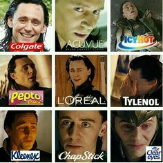 If Loki was used for advertising.
