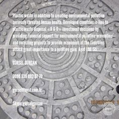 Photo by Kaan Kaldırım  Silikopolimer Rögar Kapakları  manhole cover manufacturer seller and suppliers  gursel@ayat.com.tr  Skype:gurselgurcan  0090 539 892 07 70