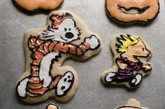 Calvin and Hobbes cookies