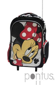 Mochila Minnie c/trolley ref.340-61074 | JB
