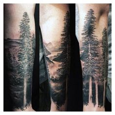 Top 75 Best Forearm Tattoos For Men - Cool Ideas And Designs ❤ liked on Polyvore featuring men's fashion