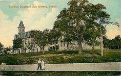 San Marcos Texas TX 1908 Coronal Institute Collectible Antique Vintage Postcard
