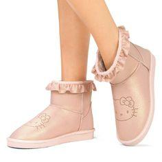 JustFab Hello Kitty pink boots