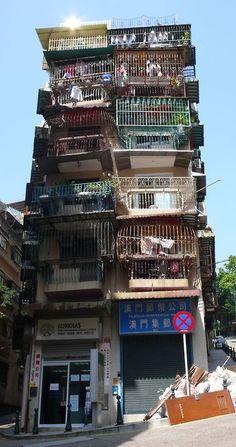 Macau - Old Residential Building