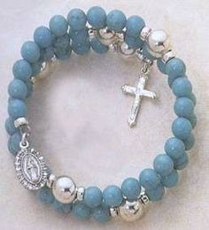 A coil rosary bracelet basically coils around your wrist and slips on and off your wrist easily. Making a coil rosary bracelet is fairly simple and does not take much time as you will learn by following the step-by-step instructions. You can choose how you'd like your bracelet to look and also learn how to …