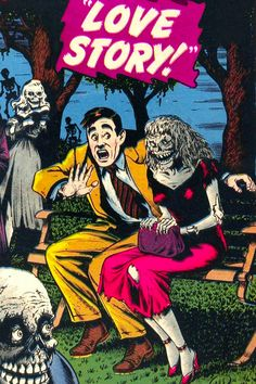 Love Story! Vintage Horror Magazine