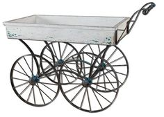 Uttermost Generosa Weathered Flower Cart - 26128
