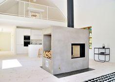 Casa svedese con camino centrale di Sandell Sandberg | Dd Arc Art