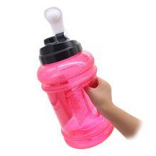 [Outdoor Sports] BPA free reusable flat plastic joyshaker water bottle sports bottle