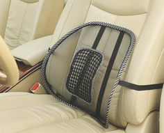Mesh Lumbar Back Brace Support  Office Home Car Seat Chair Cushion Cool Health Care Massage Cushion #clothing,#shoes,#jewelry,#women,#men,#hats,#watches,#belts,#fashion,#style