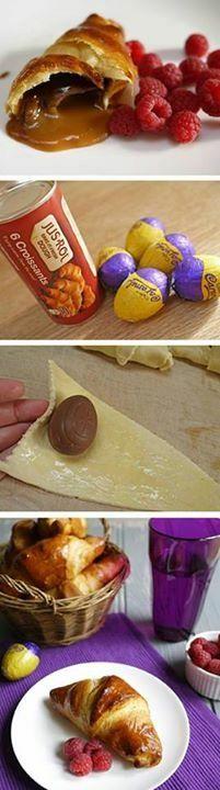 Easter eggs dessert