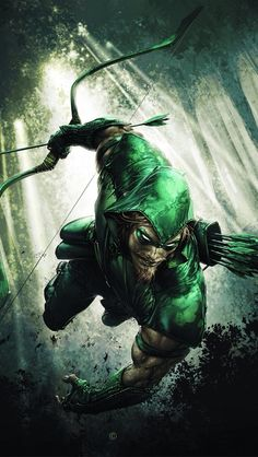Green arrow and green everything