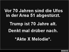 Vor 70 Jahren sind die Ufos in der Area 51 abgestürzt..