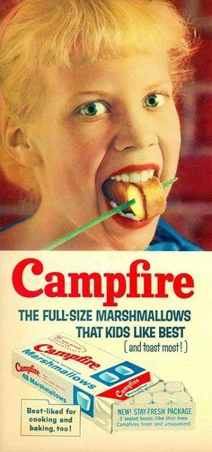 Campfire Marshmallows, c.1959    File Photo