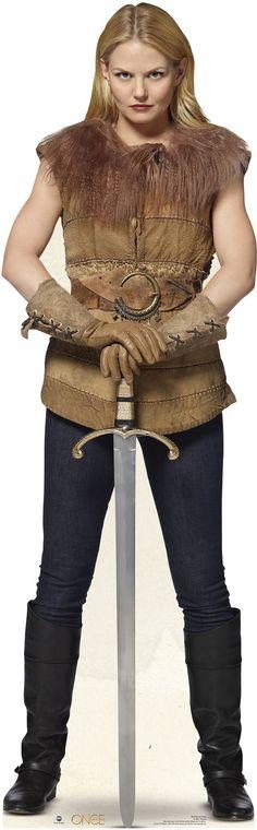 Emma Swan - Once Upon a Time Cardboard Stand-Up  Like mom... like daghter...