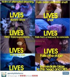 All true except Bethany was buried alive. Not Alison