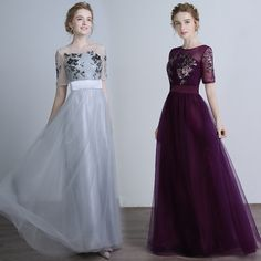 Find More Information about Grey Bridesmaid Dress Purple With Sleeve Sheer Neck Sequin Prom Party Gown Cheap Vestido Madrinha Vestido De Dama De honra longo,High Quality dresses daily,China bridesmaid winter dresses Suppliers, Cheap bridesmaid dresses fall wedding from Princessally Dresses Store on Aliexpress.com