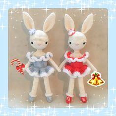 Items similar to Ice Skater /Ballerina Bunny Charlotte III in Red Dress - Easter Bunny - Chrochet doll - Amigurumi Toy on Etsy Lamb Costume, Ice Skaters, Doll Eyes, Sheep Wool, Amigurumi Toys, Crochet Toys, Easter Bunny, Ballerina, Crochet Patterns