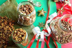 DIY Granolas de Natal para oferecer | nutrihealthyalex.com