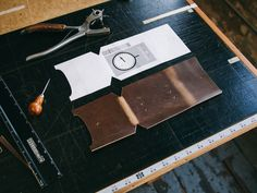Wood&Faulk | Documents of experiments, style and craft. MXS compass pouch