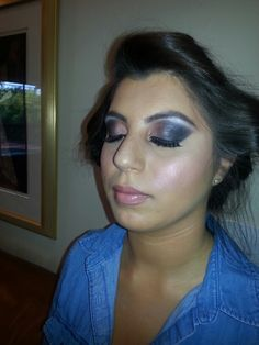 Makeup I did yesterday♡