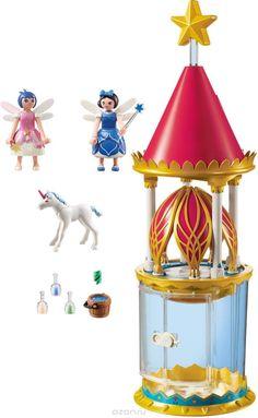 Playmobil Игровой набор Цветочная башня с Твинкл