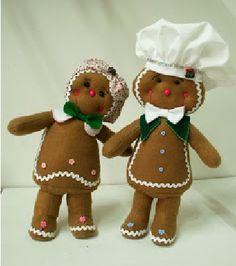 (●̮̮̃•̃)_ Galletas ...... (Algunos con Moldes) ..........Para Estrellita Blanca ❀◕‿◕❀ Felt Christmas, Christmas Themes, Christmas Tree Decorations, Christmas Ornaments, Holiday Decor, Gingerbread Village, Gingerbread Cookies, Handmade Felt, Applique