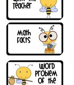 Busy Bees Math Workshop  from Worker Bees on TeachersNotebook.com -  (8 pages)