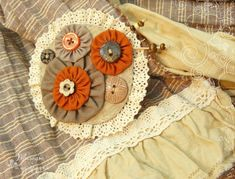 Картинки по запросу текстильные броши бохо стиль