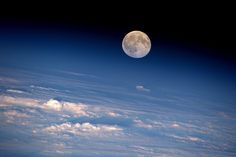 "This week's full Moon as photographed from on board the International Space Station by NASA astronaut Jeff Williams. Jeff posted this image on Twitter, commenting: ""The last month has gone by quickly…full Moon again!"". Jeff is currently Commander of the Space Station for the Expedition 48 crew."