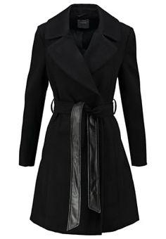 Oasis Classic coat - black - Zalando.co.uk