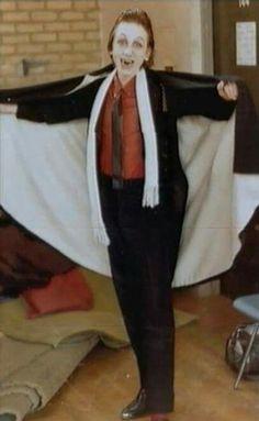 Tim Roth in school play Dracula spectacular