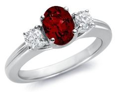 8 Engagement Rings With Pink or Red Stones—4 Less Than $500! Which Would You Wear?