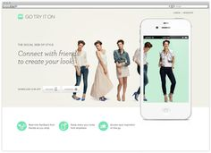 Go Try It On by RED ANTLER , via Behance