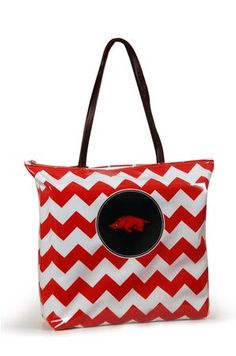 Arkansas Shopper Tote  Purchasing available through our Facebook page: https://www.facebook.com/handlewithflair1