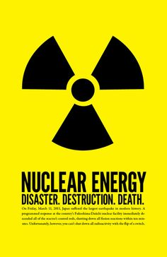 Against nuclear energy