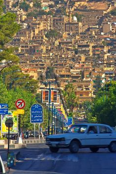 Jabal Qasiyun, Damascus, Damascus, Syria — by Michal Bošina. June 2006 Mount Qasiyun, Damascus Damascus is one of the oldest continuosly inhabited cities in the world. It has a...