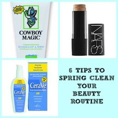 6 Tips to Spring Clean Your Beauty Routine