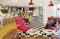 AECOM projetou novos escritórios da Sony Music, em Madrid, Espanha. projetos. revista.